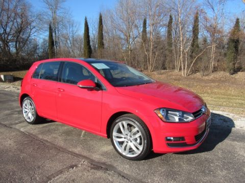 Pre-Owned 2015 Volkswagen Golf TSI SEL 4-Door